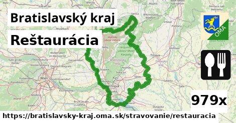 ilustračný obrázok k Reštaurácia, Bratislavský kraj