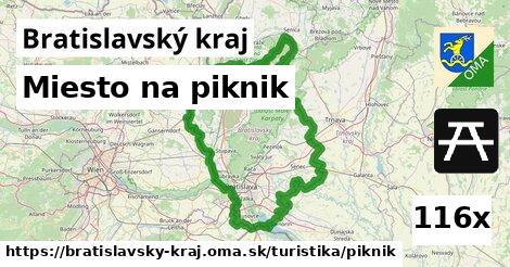 ilustračný obrázok k Miesto na piknik, Bratislavský kraj