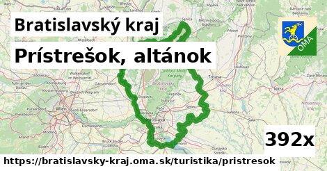 ilustračný obrázok k Prístrešok, altánok, Bratislavský kraj
