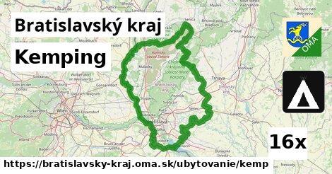 ilustračný obrázok k Kemping, Bratislavský kraj