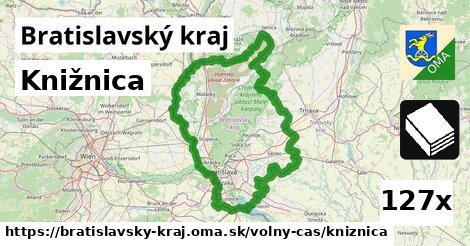 ilustračný obrázok k Knižnica, Bratislavský kraj
