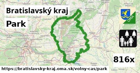 park v Bratislavský kraj