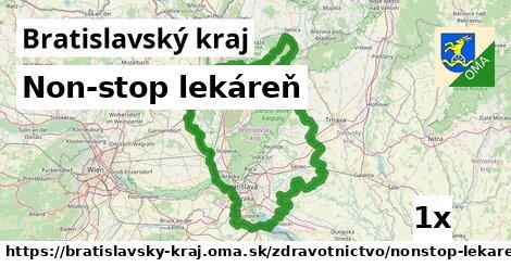 non-stop lekáreň v Bratislavský kraj