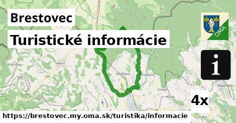 ilustračný obrázok k Turistické informácie, Brestovec, okres MY