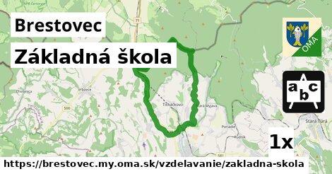 ilustračný obrázok k Základná škola, Brestovec, okres MY