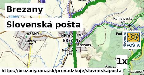 ilustračný obrázok k Slovenská pošta, Brezany