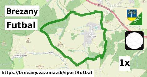 Futbal, Brezany, okres ZA