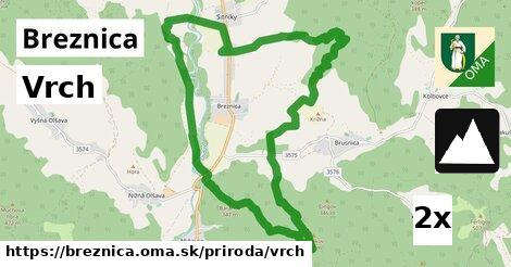 ilustračný obrázok k Vrch, Breznica