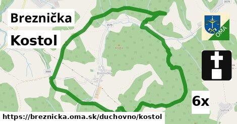 ilustračný obrázok k Kostol, Breznička