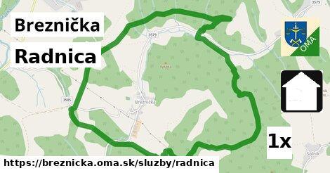 ilustračný obrázok k Radnica, Breznička