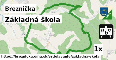 ilustračný obrázok k Základná škola, Breznička