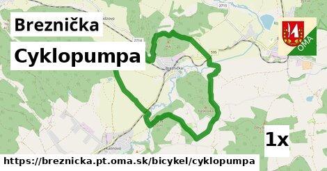 cyklopumpa v Breznička, okres PT