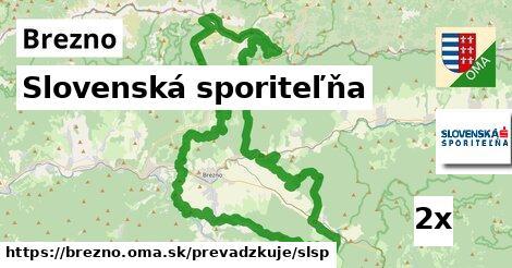 ilustračný obrázok k Slovenská sporiteľňa, Brezno