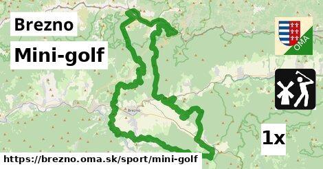 ilustračný obrázok k Mini-golf, Brezno