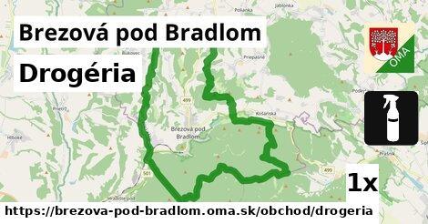 Drogéria, Brezová pod Bradlom