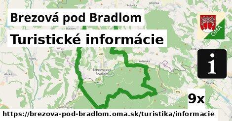 ilustračný obrázok k Turistické informácie, Brezová pod Bradlom