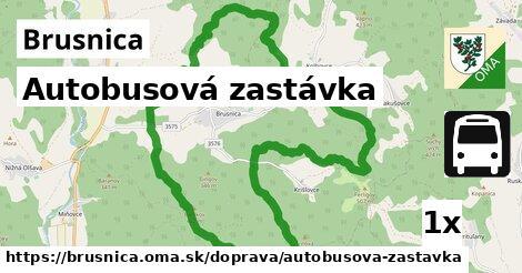 ilustračný obrázok k Autobusová zastávka, Brusnica