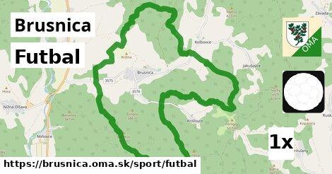 ilustračný obrázok k Futbal, Brusnica