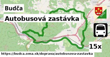 ilustračný obrázok k Autobusová zastávka, Budča