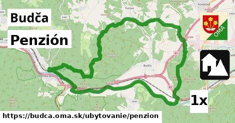 penzión v Budča