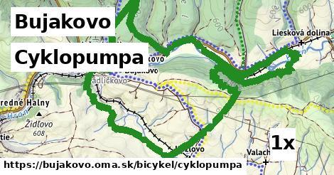 cyklopumpa v Bujakovo