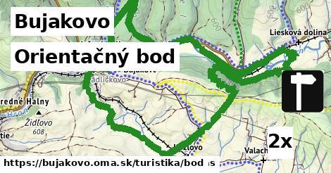 orientačný bod v Bujakovo