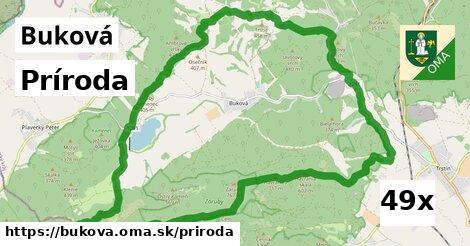 príroda v Buková