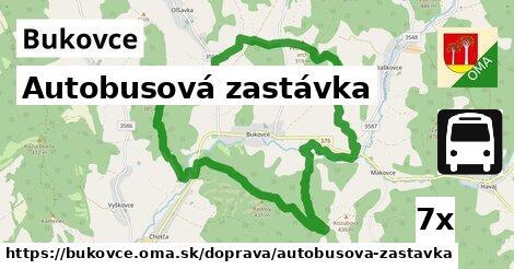 ilustračný obrázok k Autobusová zastávka, Bukovce