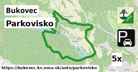 ilustračný obrázok k Parkovisko, Bukovec, okres KS