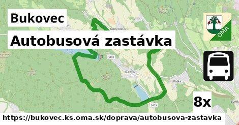 ilustračný obrázok k Autobusová zastávka, Bukovec, okres KS