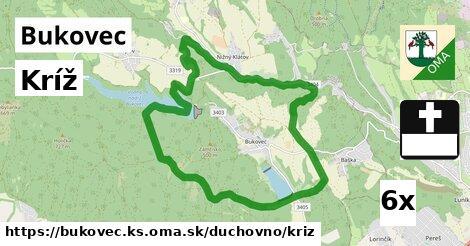 ilustračný obrázok k Kríž, Bukovec, okres KS