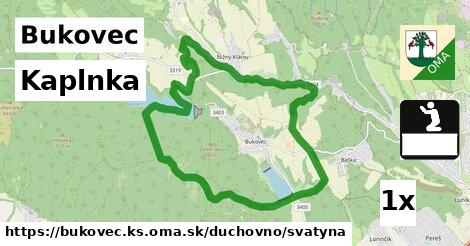ilustračný obrázok k Kaplnka, Bukovec, okres KS