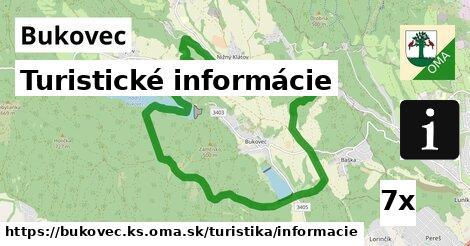 ilustračný obrázok k Turistické informácie, Bukovec, okres KS