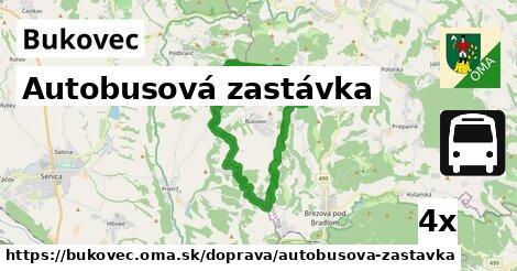 ilustračný obrázok k Autobusová zastávka, Bukovec