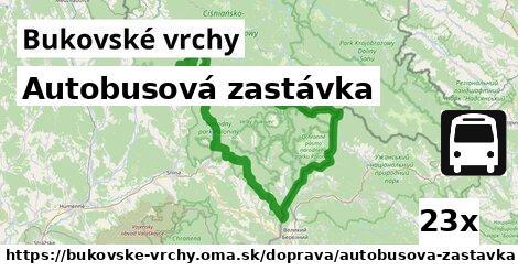 ilustračný obrázok k Autobusová zastávka, Bukovské vrchy