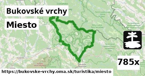 ilustračný obrázok k Miesto, Bukovské vrchy
