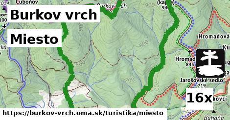miesto v Burkov vrch