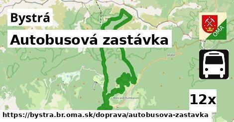 ilustračný obrázok k Autobusová zastávka, Bystrá, okres BR