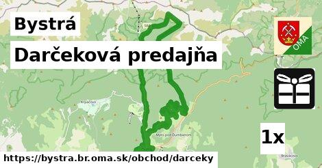 ilustračný obrázok k Darčeková predajňa, Bystrá, okres BR
