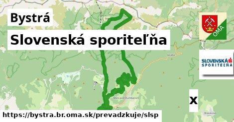 ilustračný obrázok k Slovenská sporiteľňa, Bystrá, okres BR