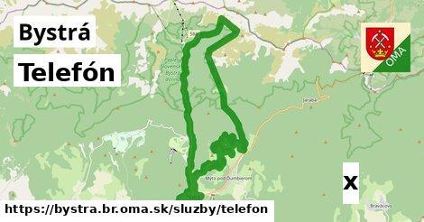 ilustračný obrázok k Telefón, Bystrá, okres BR