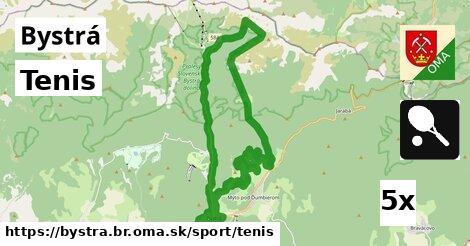 ilustračný obrázok k Tenis, Bystrá, okres BR