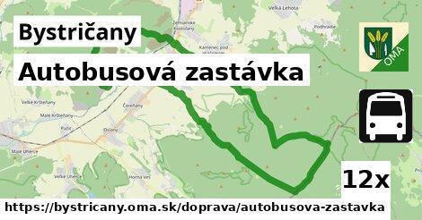 ilustračný obrázok k Autobusová zastávka, Bystričany