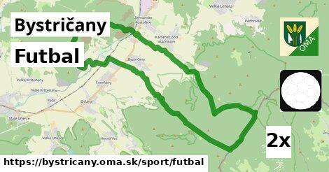 ilustračný obrázok k Futbal, Bystričany
