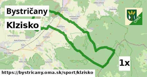 ilustračný obrázok k Klzisko, Bystričany