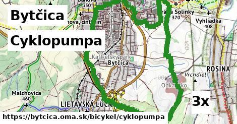 cyklopumpa v Bytčica