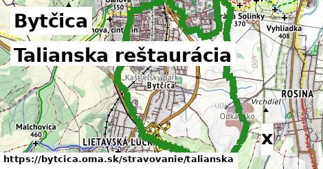 talianska reštaurácia v Bytčica