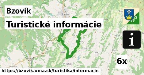 turistické informácie v Bzovík