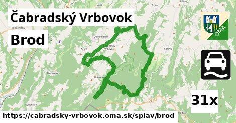 ilustračný obrázok k Brod, Čabradský Vrbovok