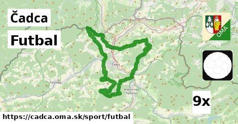 ilustračný obrázok k Futbal, Čadca